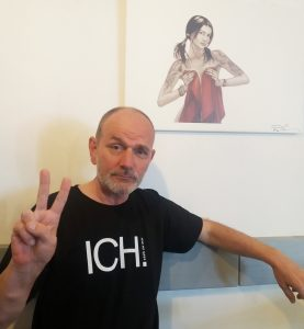ICH-SHIRT Träger Ronald-Künstler-Comic