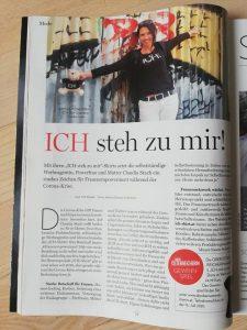 ICH SHIRT in die Oberösterreicherin